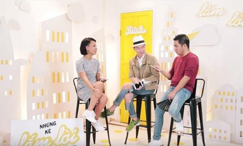 Ba MC của chương trình: Thuỳ Minh, Lê Minh Ngọc và Nguyễn Ngọc Thạch.