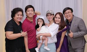 Dàn sao Việt mừng thôi nôi con gái Gia Bảo