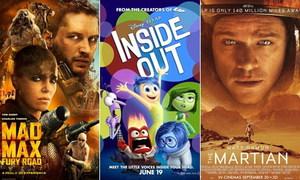 10 bộ phim được yêu thích nhất thế giới năm 2015