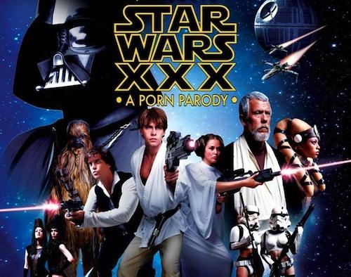 "Poster phim ""Star Wars XXX""."