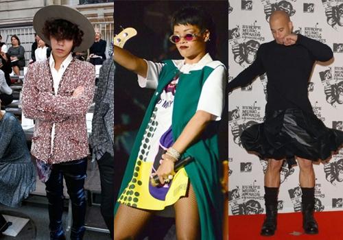 G-Dragon, Rihanna,