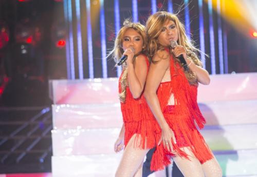 thầy trò Nam Cường - Phương Mỹ Chi hóa thành Jennifer Lopez với tiết mục