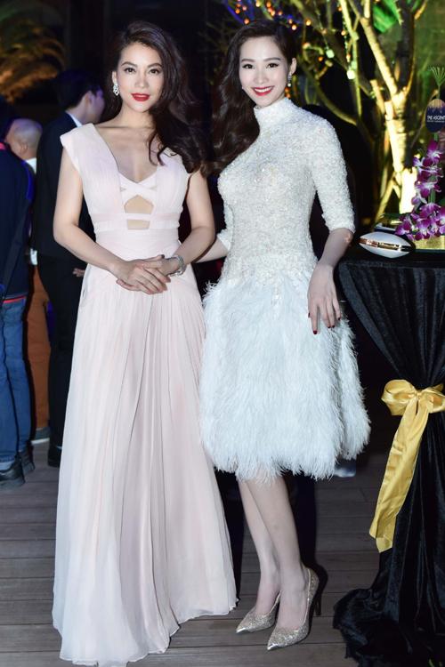 Đặng Thu Thảo, Trương Ngọc Ánh đọ sắc với váy nữ tính