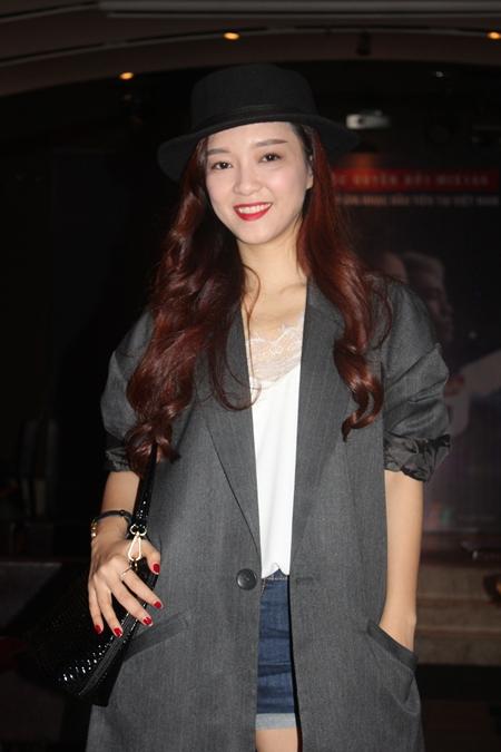 Nữ ca sĩ Đinh Hương cũng tham dự tại sự kiện với tư cách khách mời.