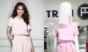 Ngọc Trinh: 'Tôi copy mẫu của Victoria chứ không phải của Huy Trần'