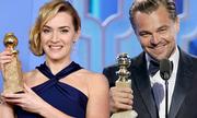 Kate Winslet, Leo DiCaprio cùng chiến thắng Quả Cầu Vàng 2016