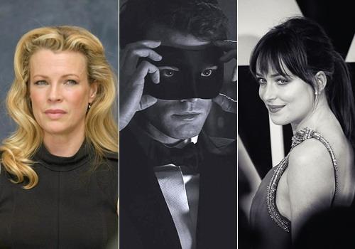 Kim Basinger sẽ vào vai nhân vật cản trở cuộc tình giữa Christian Grey và cô nữ sinh thơ ngây Anastasia do hai diễn viên Jamie Dornan và Dakota Johnson thủ vai.