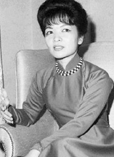 Bà Trần Lệ Xuân. Ảnh tư liệu