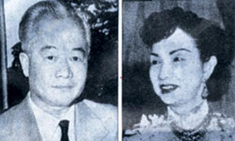 Vợ chồng ông bà Trần Văn Chương và Thân Thị Nam Trân