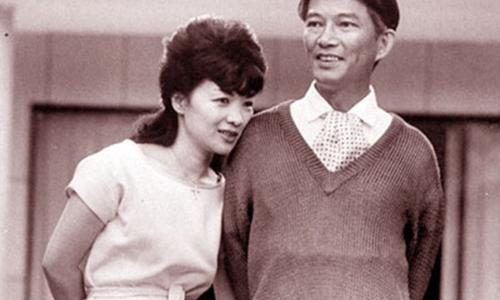 Bà Trần Lệ Xuân và chồng - ông Ngô Đình Nhu. Ảnh tư liệu.