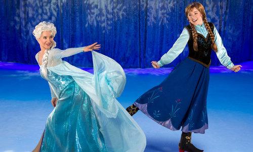 Bốn truyện cổ tích được kể ở show Disney On Ice