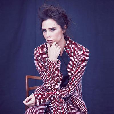 Nhà thiết kế, biểu tượng thời trang Victoria Beckham.