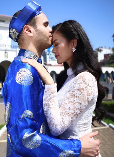 Trước Gerard em chưa bao giờ nghĩ mình sẽ yêu và kết hôn với người nước ngoài. -