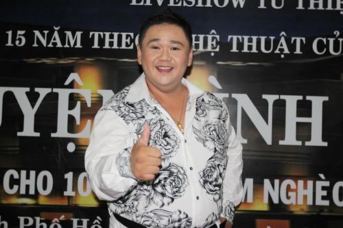 Minh Béo tại chương trình ra mắt DVD gây quỹ từ thiện. Ảnh: M.N.