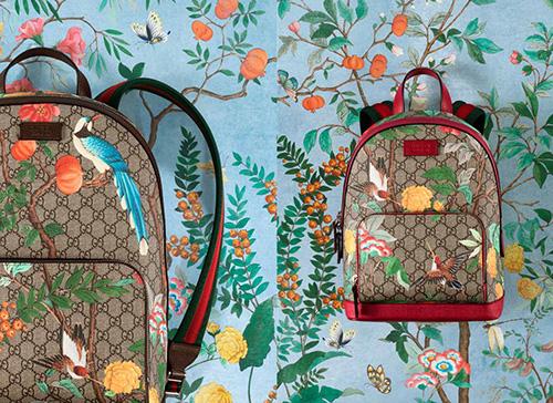Dưới bàn tay của Alessandro Michele, họa tiết Tian thể hiện trên phụ kiện nhà Gucci đang được ưa chuộng trên thế giới.