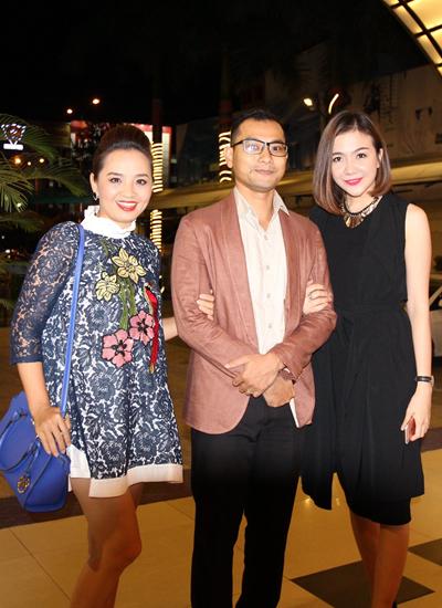 Vợ chồng diễn viên Huỳnh Đông - Ái Châu (từ trái qua).