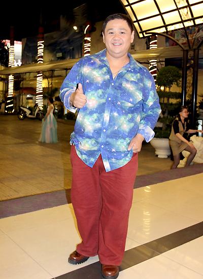 Diễn viên hài Minh Béo.