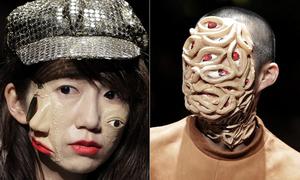 'Yêu quái' diễu hành trong show thời trang Nhật