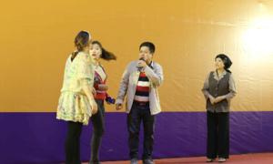 Nghệ sĩ hài Chí Trung tham gia lớp đào tạo người giúp việc