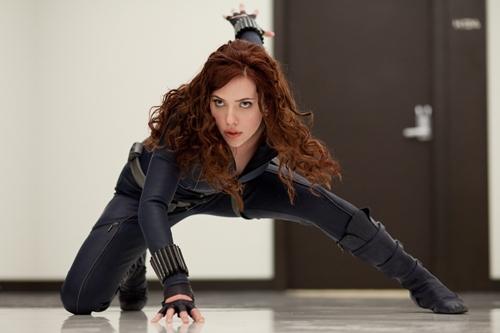 Scarlett Johansson trong vai Black Widow phiên bản điện ảnh. Ảnh: Wikia.