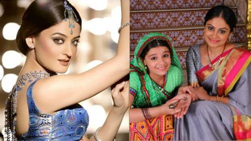 Người đẹp Mahhi Vij (trái) sẽ đóng Nimboli khi trưởng thành.