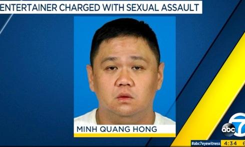 Thông tin về việc Minh Béo bị bắt đăng tải trên nhiều trang báo nước ngoài.