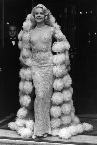 Carroll Baker, in Balmain, 1964.