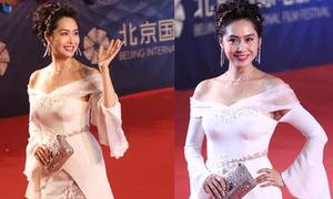 'Hoàng Dung' Chu Nhân bị chê mặc xấu tại LHP Bắc Kinh