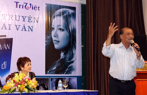 Nghệ sĩ Nhân dân Trần Hiếu (phải) là thầy của Ái Vân nhưng nhận mình là học trò của mẹ chị - Nghệ sĩ Nhân dân Ái Liên.