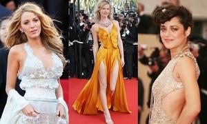 Những bộ váy gợi cảm nhất lịch sử thảm đỏ Cannes