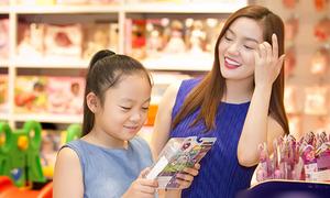 Nguyễn Ngọc Anh mừng sinh nhật con gái