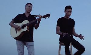 Nhạc sĩ Hoài An đệm đàn cho thí sinh Bolero hát trong MV
