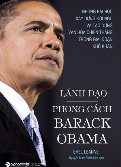 """Bìa sách """"Phong cách Brack Obama"""">"""