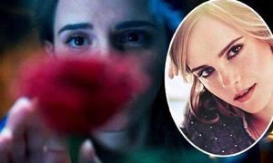Emma Watson lấp ló sau hoa hồng trong teaser 'Người đẹp và quái thú'