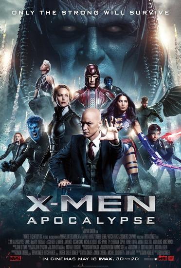 """Poster phim """"X-Men: Apocalypse""""."""