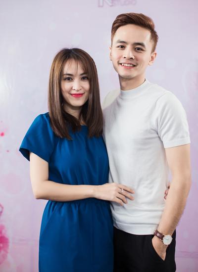 Vợ chồng Tú Vi - Văn Anh.