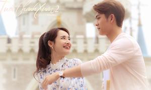 Nhã Phương tình tứ với Kang Tae Oh trong 'Tuổi thanh xuân 2