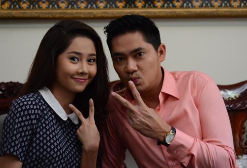 Diễn viên Tường Vi, Minh Luân tham gia bộ phim.