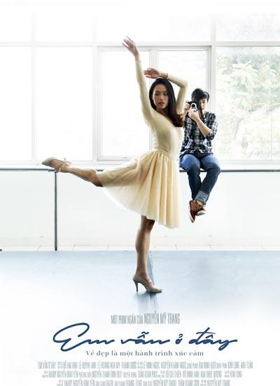 """Poster phim """"Em vẫn ở đây"""" của đạo diễn Nguyễn Mỹ Trang."""