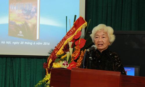 Bà Lê Thị Hạnh - vợ cố Nhà văn Lê Vĩnh Hòa