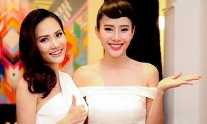 Nam Em mừng Diệu Linh làm bà chủ cửa hiệu thời trang