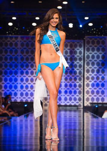Katherine Haik - Miss Teen USA 2015 - trong phần thi bikini.