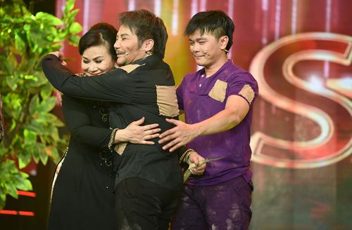 Từ trái qua: Cẩm Thu, Linh Tâm, Linh Tý