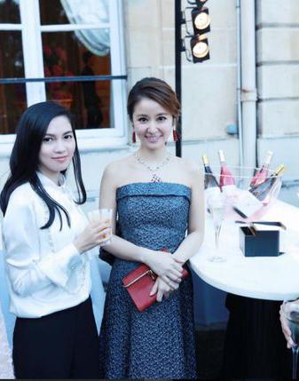 Lâm Tâm Như mới đây dự sự kiện của một thương hiệu trang sức, diễn ra ở Pháp.