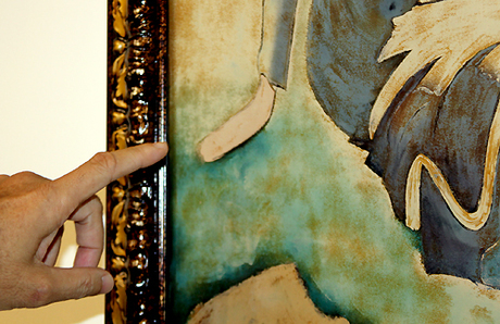 Bức sơn dầu Ba cô gái nổi tiếng của họa sĩ Dương Bích Liên bị nghi là tác phẩm giả