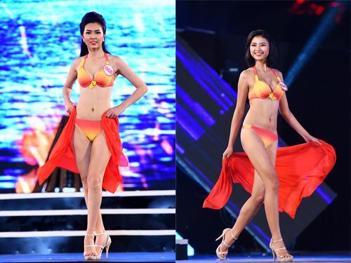 18-thi-sinh-hoa-hau-mien-bac-thieu-dot-san-khau-voi-bikini