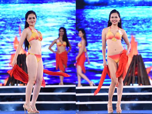 18-thi-sinh-hoa-hau-mien-bac-thieu-dot-san-khau-voi-bikini-1