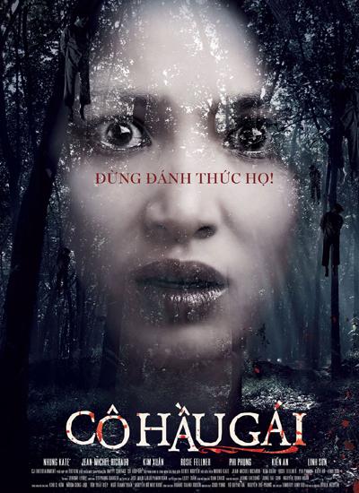 Hình ảnh diễn viên Nhung Kate trên teaser poster.