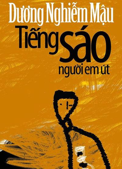 Bìa quyển Tiếng sáo người em út của Dương Nghiễm Mẫu đã phát hành lại trong nước.