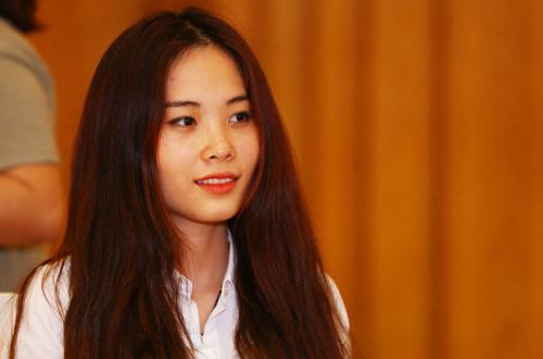 Trong số các thí sinh dự thi ở khu vực TP HCM có Nguyễn Thị Lệ Nam - chị gái của Hoa khôi Nam Em.
